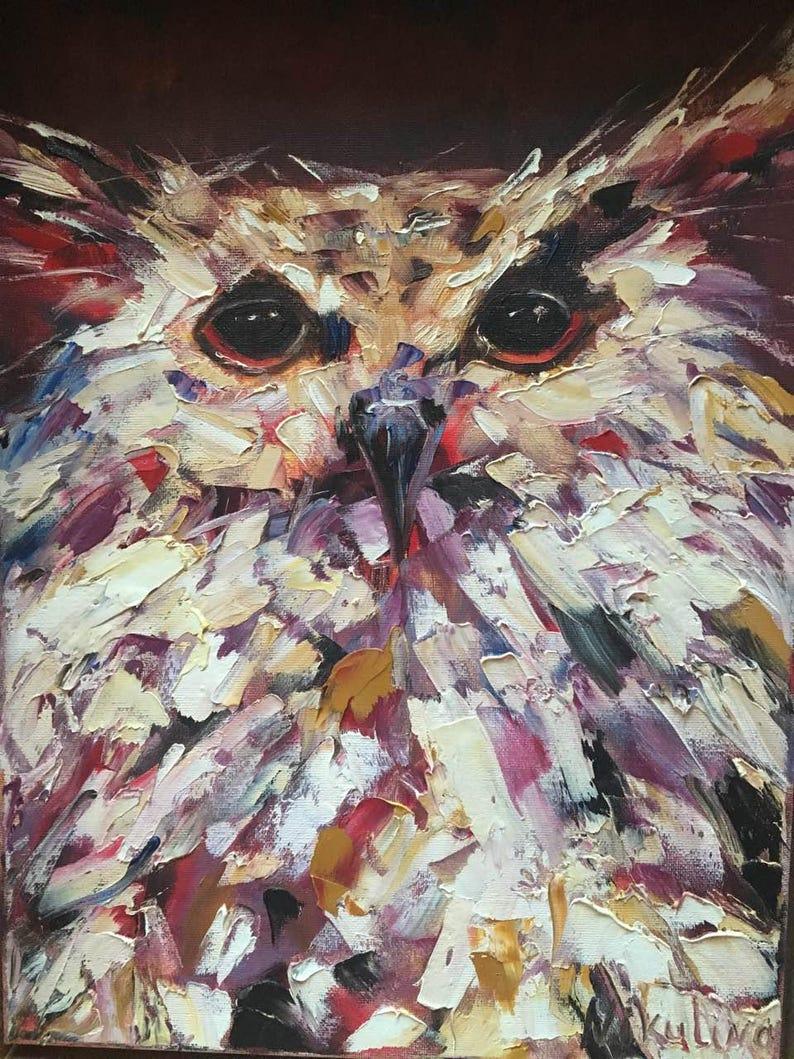 DALI - palette knife oil painting portrait of Sa   Artfinder