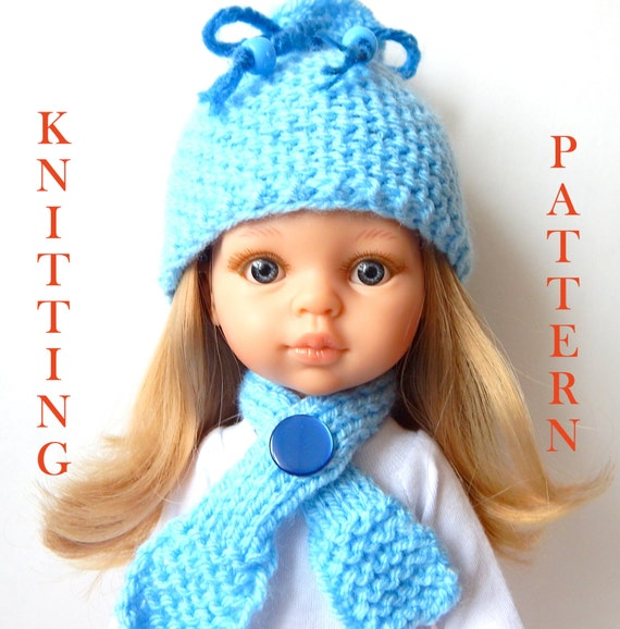 Pdf Knitting Pattern To Knit Dolls Clothes To Fit 12 13 Inch Etsy