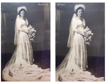Photo Restoration, Repair, Retouching and Enchancement
