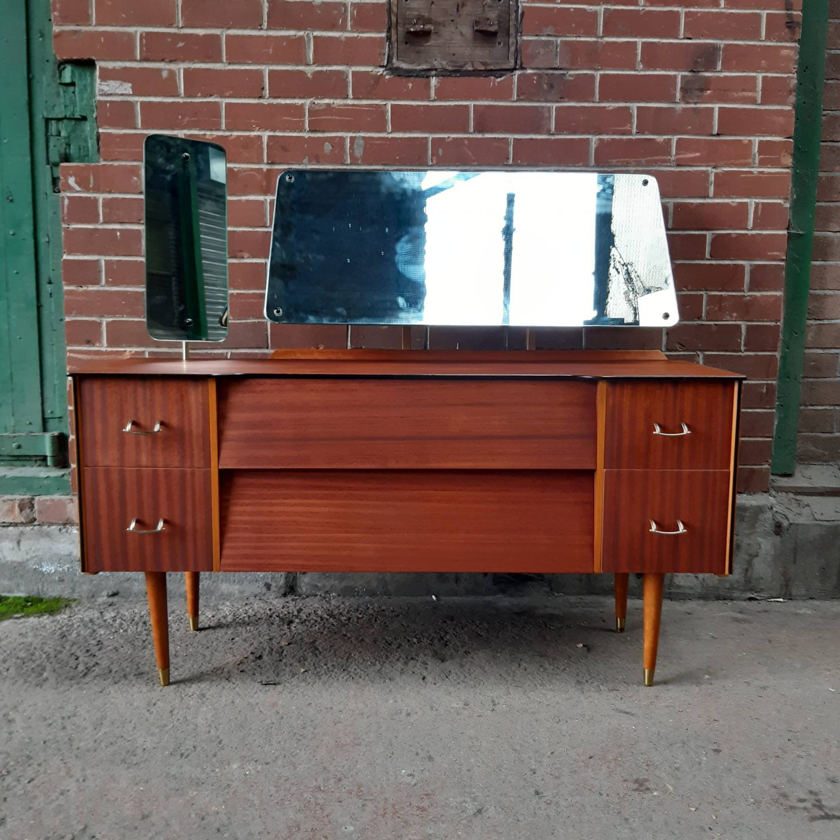 Avalon Yatton Dressing Table Desk Console Vintage Retro Mid