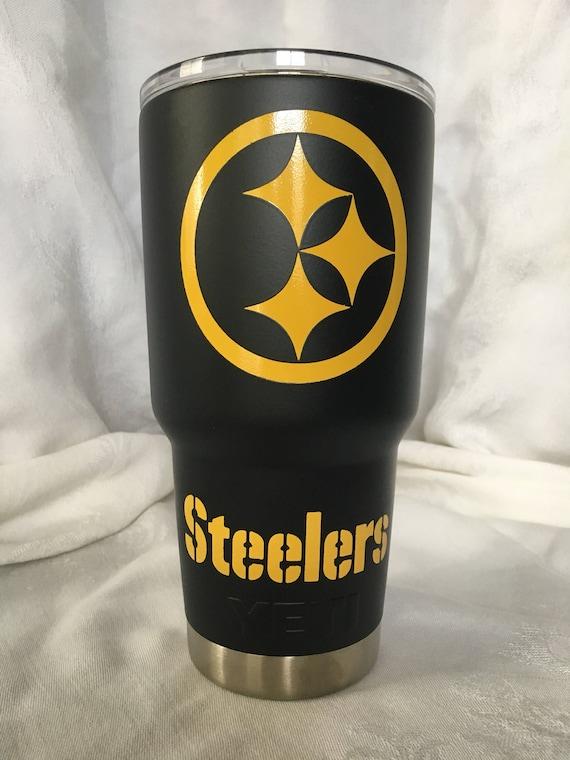 Pittsburgh Steelers Powder Ocated Tumbler