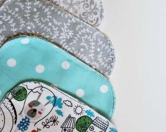 Reusable Baby wipes,  zero waste baby gift, Mama Cloth, Wipes, Unpaper, Cloth Diapering, Baby Wash Cloths, Eco-friendly baby, dogs, puppies
