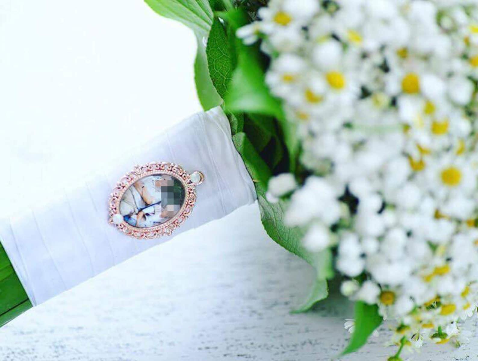 Brautstrauß Medaillon