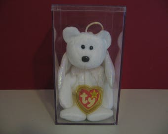 e3748c619d8 Vintage 1998 Retired - Beanie Baby Retired Rare! - Halo the Bear with errors