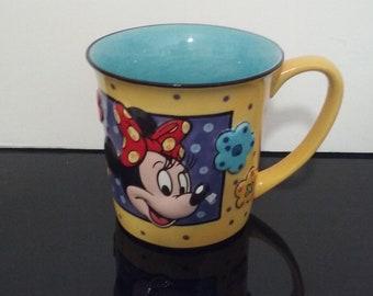 "Vintage ""The Disney Store"" Minnie Mouse 3D Coffee Mug"