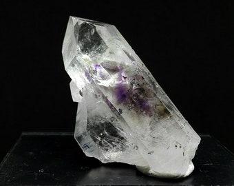 Smokey/amethyst phantom quartz crystal
