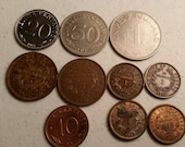 10 bolivia vintage coins 1951 - 1974 coin lot boliviano centavos - world foreign collector money numismatic a22