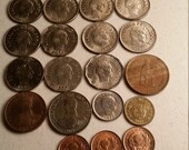 19 colombia vintage coins 1959 - 1992 coin lot centavo peso - world foreign collector money numismatic a26