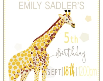 Safari Party Invitations