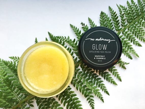 No Ordinary Glow Botanical Face Sugar Polish 60ml.