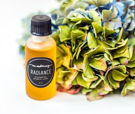 No Ordinary Radiance Rejuvenating Botanical Face Serum 30ml, Organic face oil/ Acne prone/ Rosacea/ antioxidant/ vegan skincare