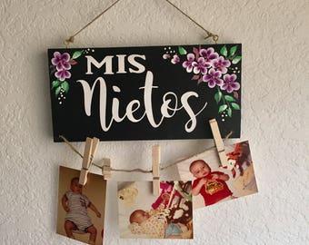 Abuela gift from grandkids Abuela Mother/'s Day gift Abuela picture frame Gift for Grandma Spanish Grandma gift Gift for Abuela