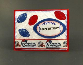 New England Patriots card,New England Patriots,New England Patriots gift,New England Patriots birthday,New England Patriots fan,Patriots