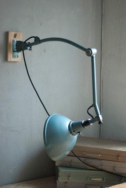 337 Rara Lampada Articolata Midgard Hammerschlag Manutenzione