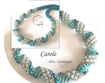 KIT diy necklace CAROLE