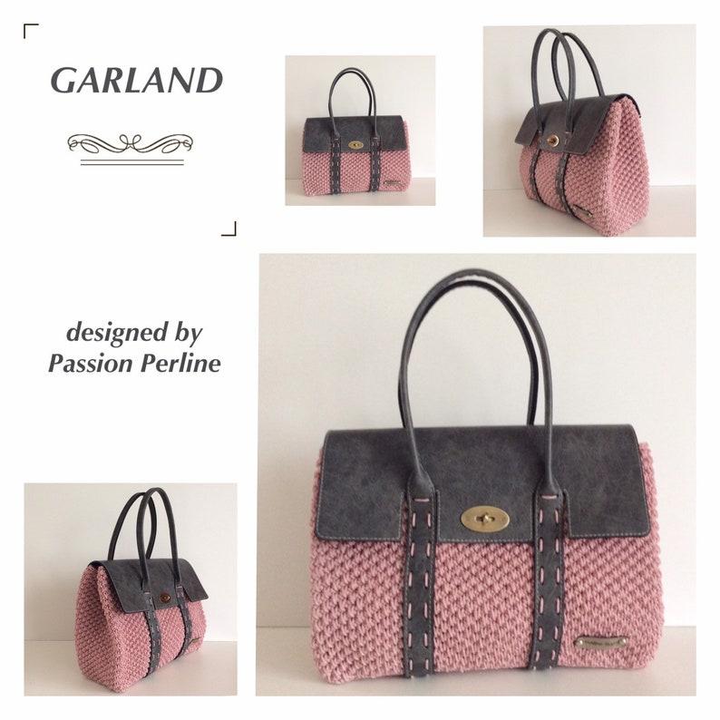 PATTERN handbag GARLAND