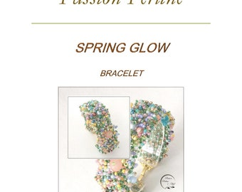 Pattern bracelet SPRING GLOW