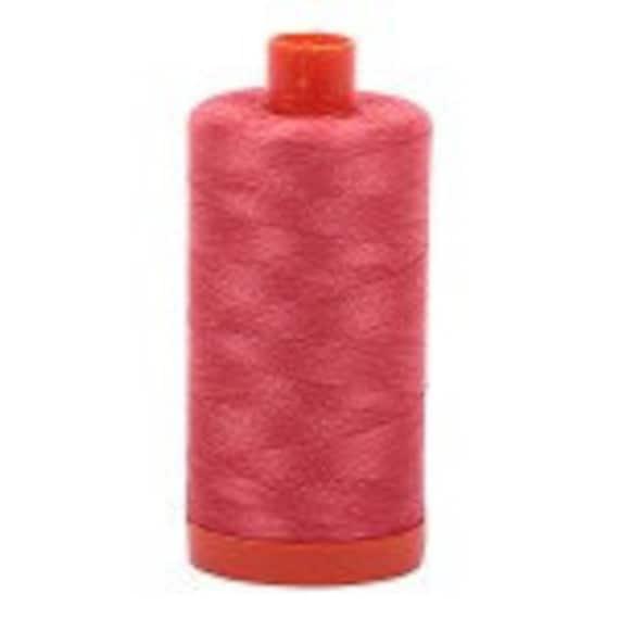 Aurifil Thread 2315 PALE FLESH Cotton Mako 50wt Large Spool 1300m
