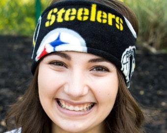 Pittsburgh Steelers Fleece Ear Warmer/Fleece Headband