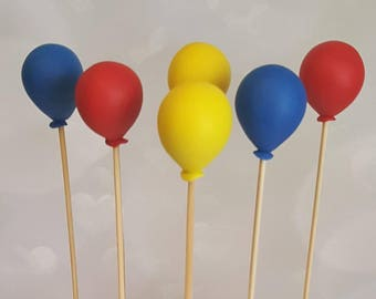 Fondant Balloon Cake Decorations
