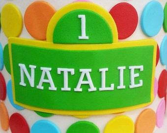 Sesame Street Name Plaque