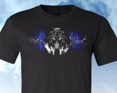 Wolf Native Spirt Shirt, Short Sleeve