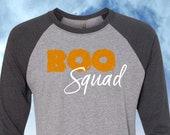 Boo Squad Raglan Tee