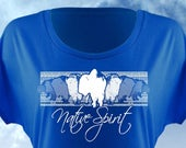 Native Spirit Oklahoma Shirt, Dolman Cut