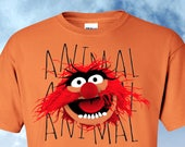 Muppets Animal Fan Shirt