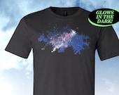 Night Sky Shirt, Glow in the Dark