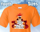 Muppets Pepe Fan Shirt, Youth Sizes