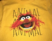 Muppets Animal Fan Shirt, Toddler Sizes