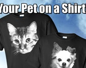 Your Pet on a Shirt