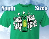 Creepers Happen! Minecraft Shirt, Youth Sizes
