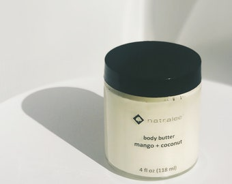 Mango + Coconut   A Little More Butter   Body Butter   Natralee   All Natural
