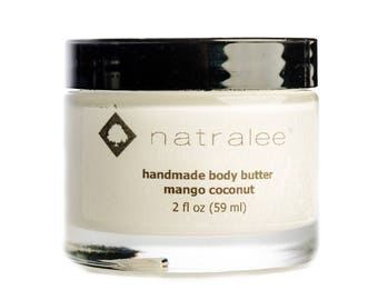Mango + Coconut   Body Butter   Natralee   All Natural