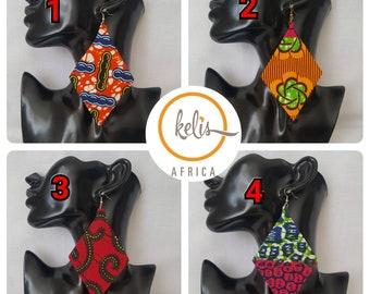 Price Slash!!Sale !!Ankara Earrings / African Print Earrings /Handmade Earrings / African earrings/ Angles