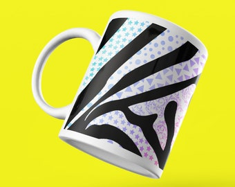 Zebra Stripes Zentangle Mug