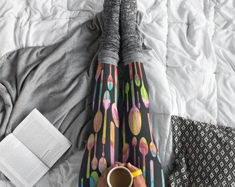 Painted Spoons Awareness Leggings
