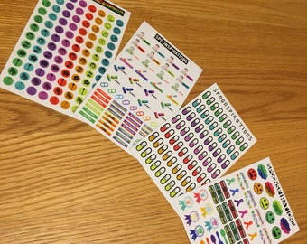 SALE Chronic Illness Planner Sticker Sheets *