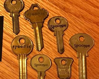 ChroHo Keys: SPOONIE Necklace *