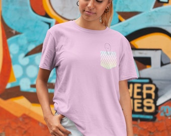 Spoonie Fake Pocket Adult Shirt - YOUR COLORS