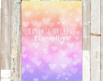 Chronic Hearts Blanket