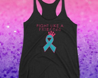 PICK YOUR COLOR Fight Like a Princess Tank Top