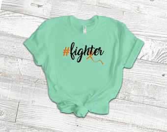 Hashtag Fighter Adult Shirt/Orange - YOUR SHIRT COLOR