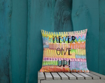 Positivity Paints Two Sided Pillow Case ONLY