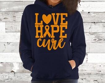 CRPS/Love Hope Cure Hoodie