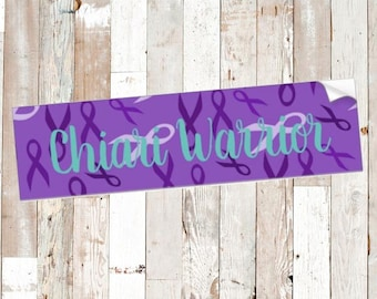 Chiari Warrior Bumper Sticker *