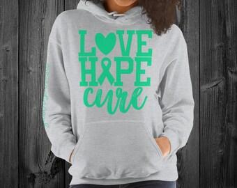 Gastroparesis/Love Hope Cure Hoodie
