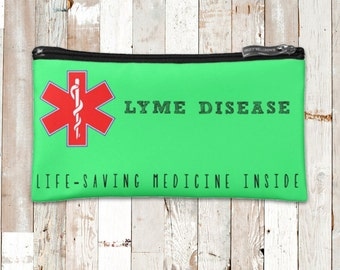 Lyme Disease Medicine Bag *